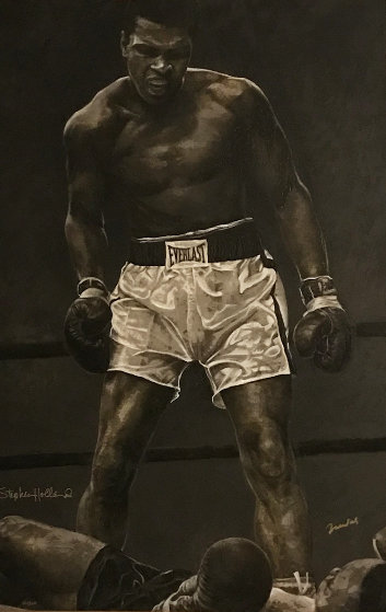 Ali The Greatest  HS by Ali Limited Edition Print by Stephen Holland