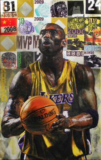 Kobe Bryant  HS Limited Edition Print - Stephen Holland