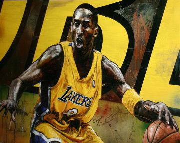 Kobe Bryant 2005 Embellished  Limited Edition Print - Stephen Holland