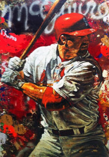 Mark McGwire 2005 Embellished  Limited Edition Print by Stephen Holland
