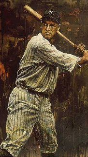 Lou Gehrig 2004 Embellished  Limited Edition Print by Stephen Holland