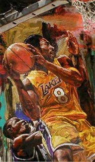 Kobe Bryant 2002 Embellished HS by Kobe Limited Edition Print - Stephen Holland
