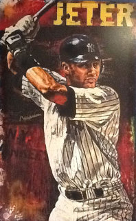 Hometown Hero (Derek Jeter) Baseball AP 1998 Limited Edition Print by Stephen Holland