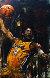 Kobe Bryant 46x29 Original Painting by Stephen Holland - 0