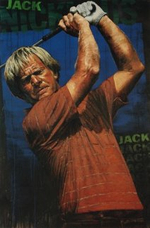 Jack Nicklaus 2005  Embellished (Golf) HS by Jack Limited Edition Print by Stephen Holland