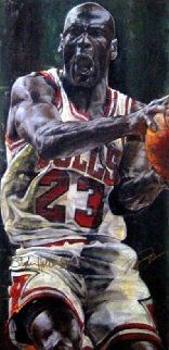 Game Time Michael Jordan HS By Jordan Limited Edition Print by Stephen Holland
