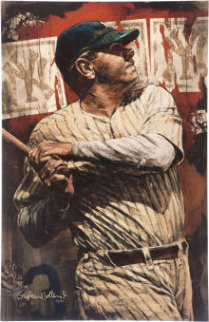 Babe Ruth Bambino 2006 Embellished  Limited Edition Print by Stephen Holland