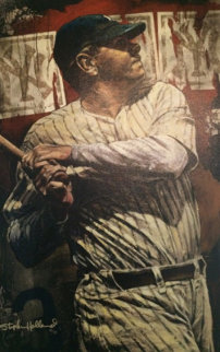 Babe Ruth Bambino 2006 Embellished   Limited Edition Print - Stephen Holland