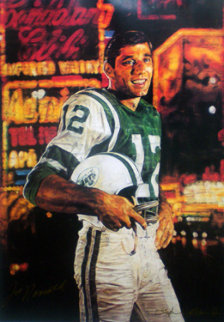 Joe Namath Limited Edition Print by Stephen Holland