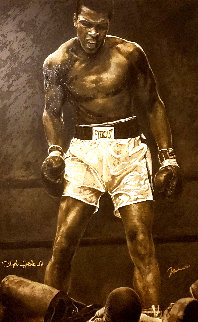 Ali the Greatest - Huge 38x53 Limited Edition Print - Stephen Holland