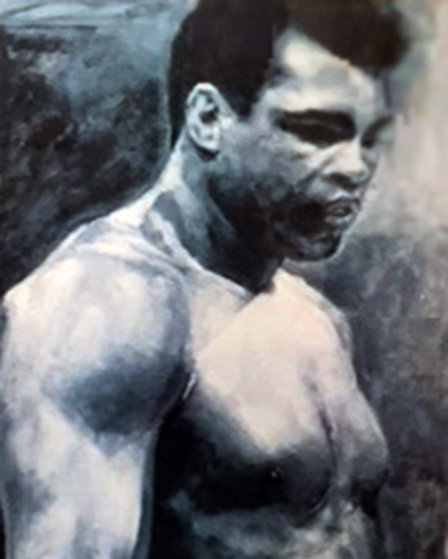 Muhammad Ali AP 1991 HS  by Ali Limited Edition Print by Stephen Holland