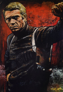Steve McQueen 41x28 Limited Edition Print by Stephen Holland