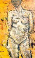 Nude 2019 48x30 Super Huge Original Painting by Karol Honeycutt - 1