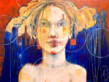 Circus 2019 30x40 Original Painting - Karol Honeycutt