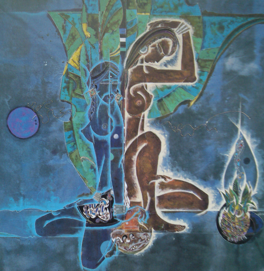 Spirit of the Tropics 1989 Limited Edition Print by Lu Hong