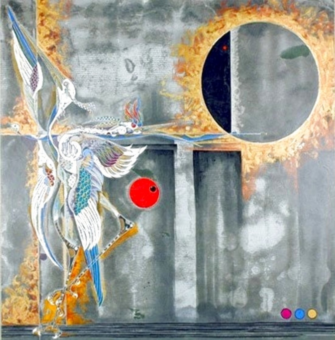 Eclipse 1990 Limited Edition Print by Lu Hong