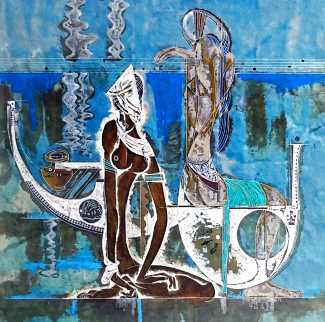 Rhyme of the Sea 1988 Limited Edition Print - Lu Hong