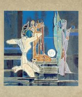 Full Moon and Water 1987 Limited Edition Print by Lu Hong - 1
