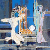 Full Moon and Water 1987 Limited Edition Print by Lu Hong - 0
