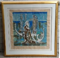 Rhyme of Sea 1988 Limited Edition Print by Lu Hong - 1