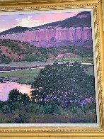 Under Swallow Mesa 36x46 Huge Original Painting by William Cather Hook - 6