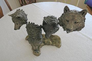 Survival Bronze Sculpture 1995  Sculpture - Mark Hopkins
