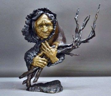 Gathering Wisdom Bronze Scupture 1994 17 in Sculpture by Mark Hopkins