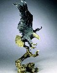 Sovereign  Territory Bronze Sculpture 1998 21 in Sculpture - Mark Hopkins