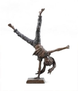 Cartwheeling Sculpture - Mark Hopkins