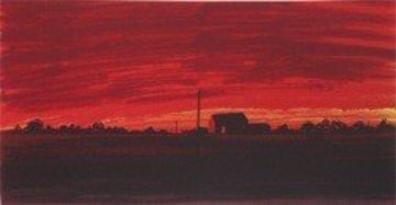 Texas Limited Edition Serigraph Limited Edition Print by Anthony Hopkins