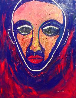 Solace 2012 62x50 Super Huge Original Painting - Anthony Hopkins