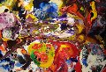 A3113 2007 20x23 Original Painting - Anthony Hopkins