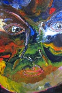 Self Portrait 2007 36x25 Original Painting - Anthony Hopkins