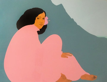 Ko'olau Afternoon 1986 Limited Edition Print by Pegge Hopper