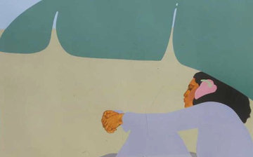 Banana Leaf 1979 Limited Edition Print by Pegge Hopper