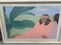 Kailua Noon II 1983 Huge 27x40 Limited Edition Print by Pegge Hopper - 1