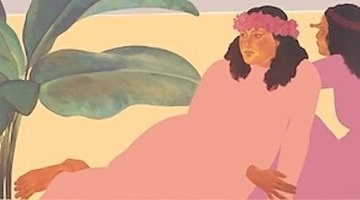 Kailua Noon II 1983 Limited Edition Print - Pegge Hopper