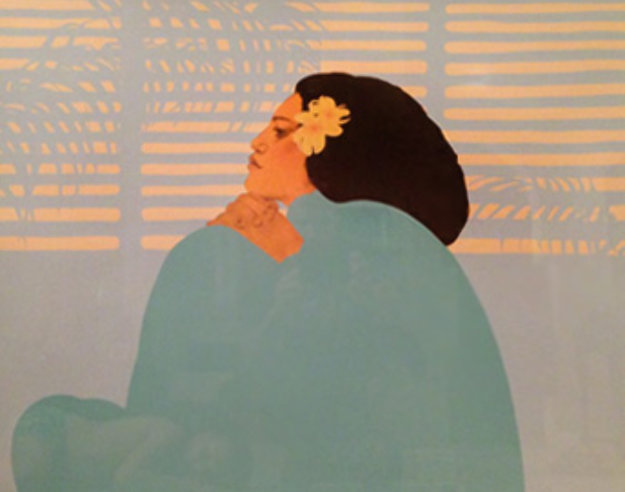 Kilo Hana 1986 Limited Edition Print by Pegge Hopper