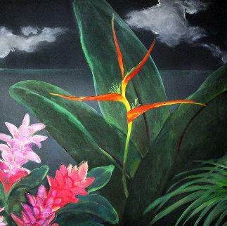 Midsummer's Night Dream II 2004 48x48 Original Painting by Pegge Hopper