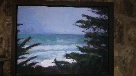 Pacific Trail 2009 34x35 Original Painting by Larry Horowitz - 2