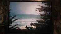 Pacific Trail 2009 34x35 Original Painting by Larry Horowitz - 1
