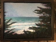 Pacific Trail 2009 34x35 Original Painting by Larry Horowitz - 5