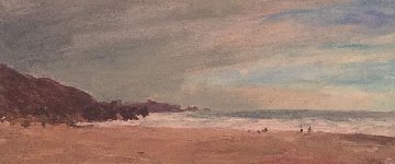 Stinson Beach 2001 18x32 Original Painting by Larry Horowitz