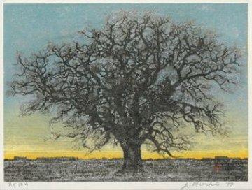 Akebono (Dawn) 1977 16x18 Limited Edition Print - Joichi Hoshi