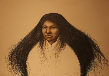 Lakota Summer AP Limited Edition Print - Frank Howell
