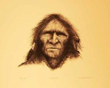Buffalo Robe 1974 Limited Edition Print by Frank Howell