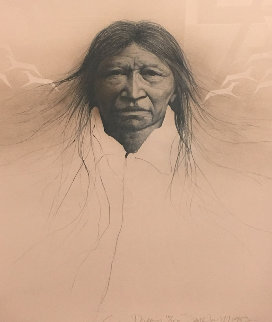 Sioux Dream 1983 Limited Edition Print by Frank Howell