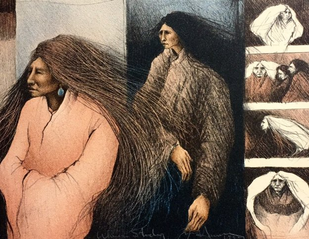 Women Study 1989 Limited Edition Print by Frank Howell