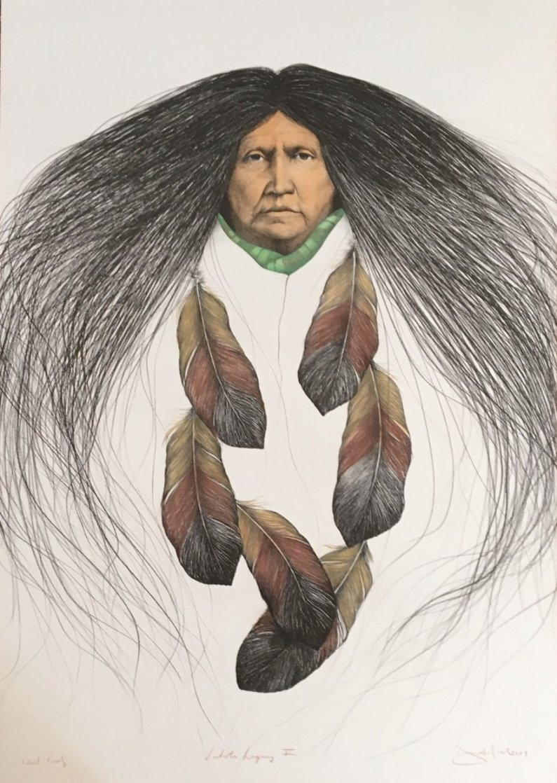 Lakota Legacy II AP 1989   Limited Edition Print by Frank Howell
