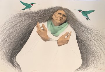 Visitation II Hand Colored AP 1990 Limited Edition Print by Frank Howell